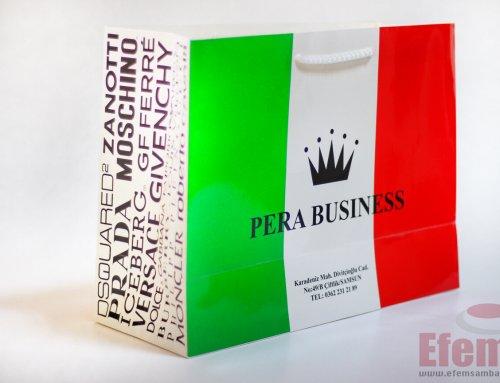 Pera Business Karton Çanta